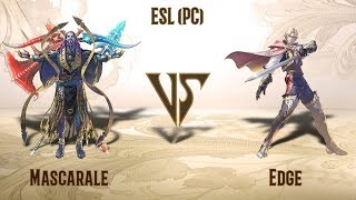 Mascarale (Azwel) VS Edge (Raphael) - ESL (PC) Open Cup #1 (Europe) - Grand Final