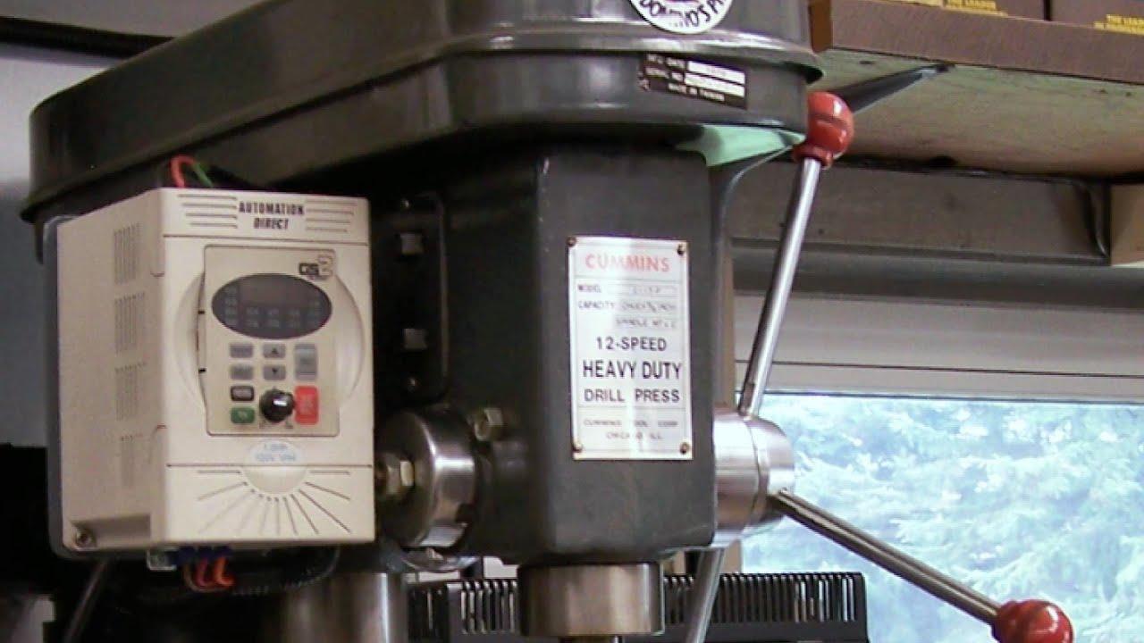 Vfd Drive Lathe Drill Press Amp Mill Variable Speed Diy