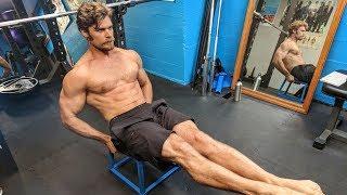 Home No Weight Bodyweight Workout   P1D1