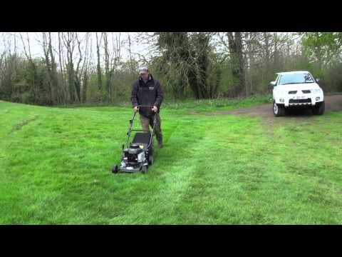 Hand-Propelled Rotary Lawn Mower with Briggs & Stratton Engine 40cm 3hp Product Review