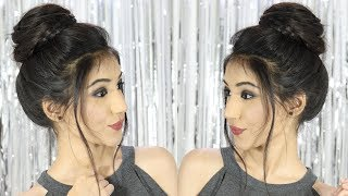 New Bun Hairstyle 2019 Girl | Wedding Bun Trick | Updo Hairstyle