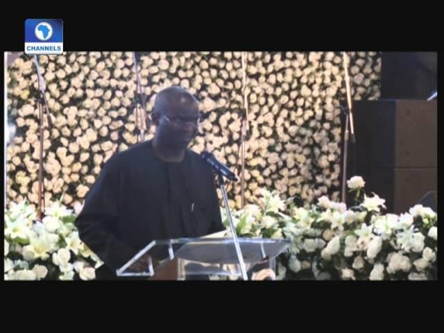 Metrofile: Family, Friends Gather To Pay Last Respect To Late Molade Okoya Thomas