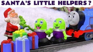 Funny Funlings help Santa find presents for Thomas The Tank Engine and Super Funling TT4U