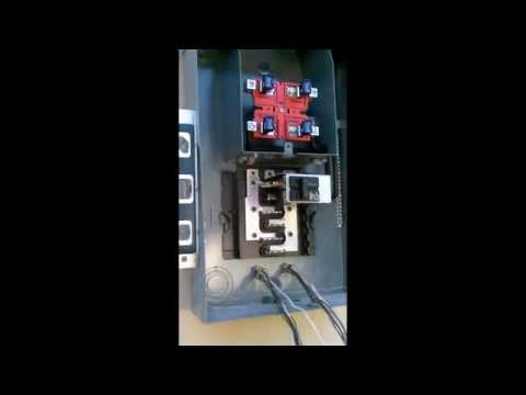 Electric Service Panel Installation/Upgrade walkthrough. Exterior, Overhead Service