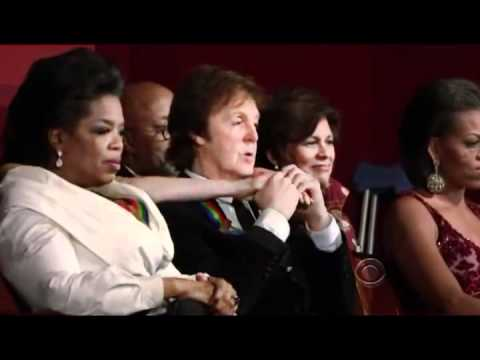 Paul McCartney Tribute  in Kennedy Center Honors