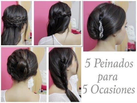 5 Peinados para 5 Ocasiones