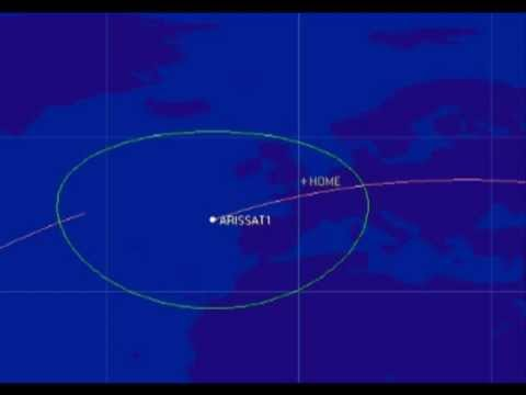 ARISSat-1 Amateur Radio Satellite Pass 14 Nov 2011