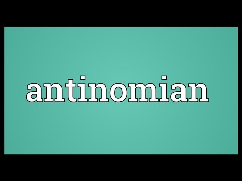 Header of antinomian
