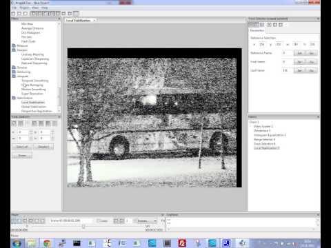 CCTV Video Image Enhancer
