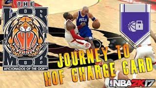 Journey To Hall Of Fame Charge Card | NBA 2K17