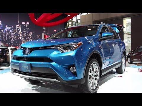 2016 Toyota RAV4 Hybrid - 2015 New York Auto Show