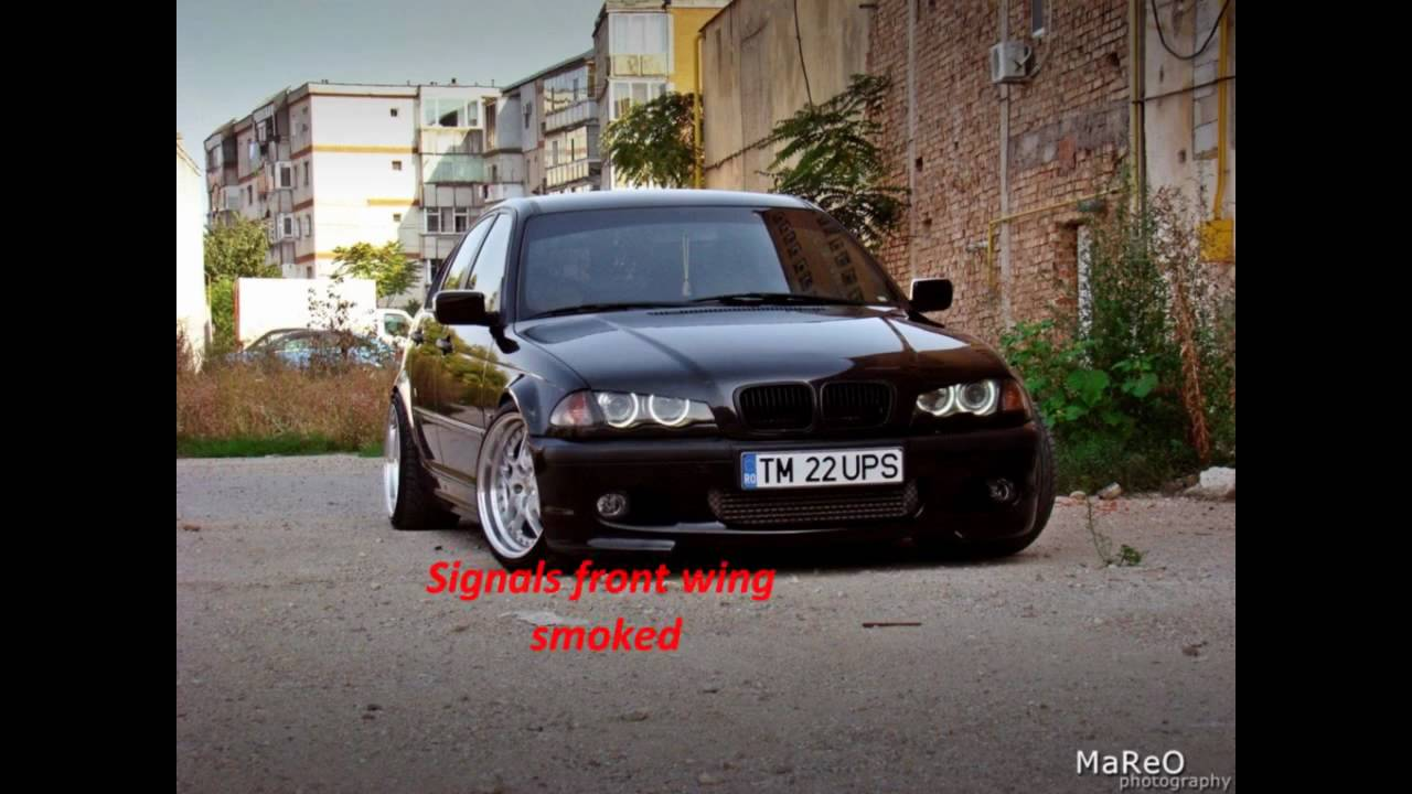 bmw e46 tuning 320d black beauty youtube. Black Bedroom Furniture Sets. Home Design Ideas