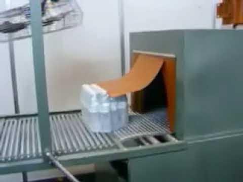 selladora de dos pistones de cortina y tunel e encogimiento