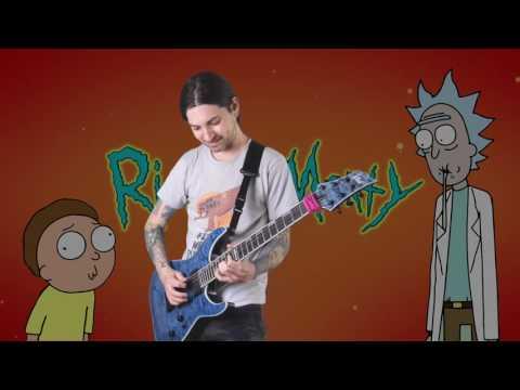 Rick and Morty Meets Metal