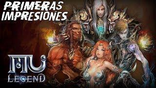 MU LEGEND   PRIMERAS IMPRESIONES   Un Action RPG MMO Adictivo y Divertido!!