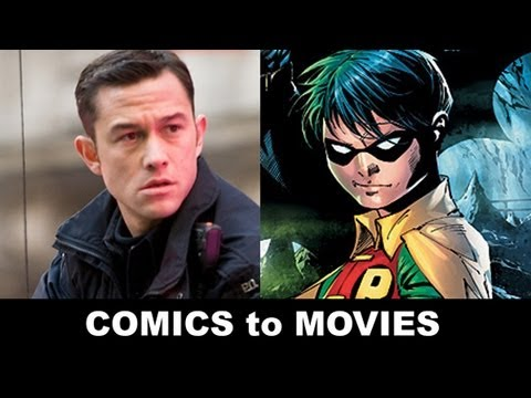 The Dark Knight Rises 2012 - Joseph Gordon-Levitt is Robin! From Comics to Trailer to Movie!