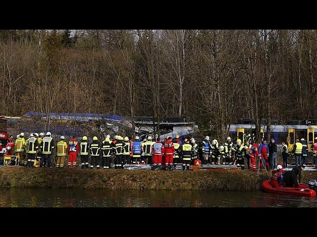 Several killed as commuter trains collide in Germany