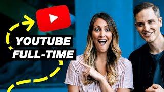 10 Practical Tips for Going Full-Time on YouTube