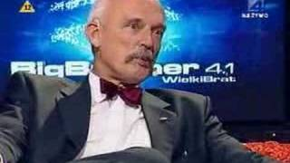 Janusz Korwin-Mikke w Big Brother cz1/2