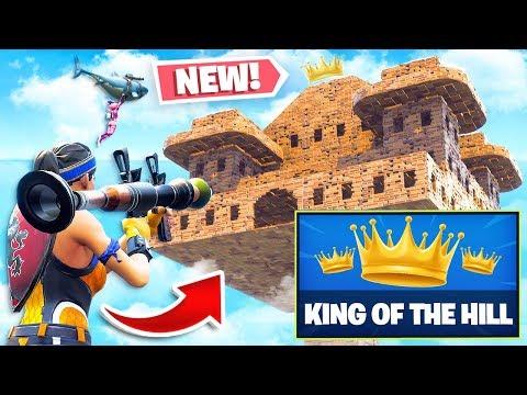*NEW* KING-OF-THE-HILL Custom Gamemode in Fortnite Playground V2 Mode! (Battle Royale)