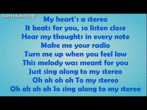 Glee - Stereo Hearts (hq Audio) - Lyrics video