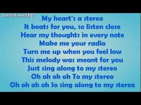 Glee - Stereo Hearts (hq Audio) - Lyrics video