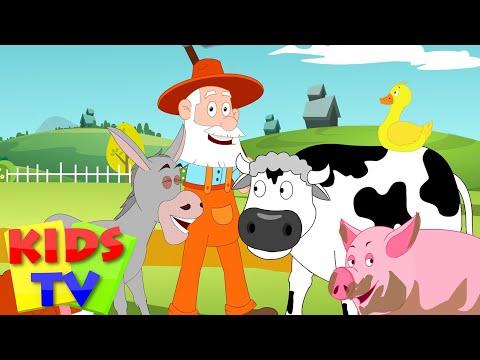Old Macdonald Had A Farm | Old Macdonald | Nursery Rhyme video