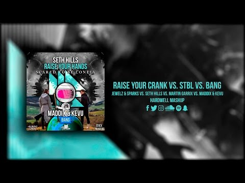 Scared To Be Lonely vs. Crank vs. Raise Your Hands vs. Spaceman vs. Bang (Hardwell UMF 2017 Mashup)