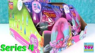 Series 4 Trolls Movie Blind Bags Full Box Opening | PSToyReviews