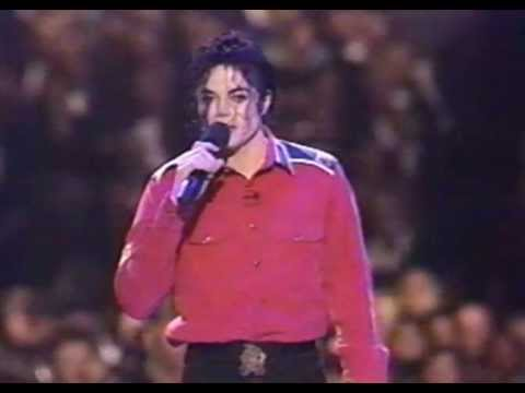 Michael Jackson - Gone Too Soon & Heal The World Live (President...