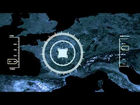 After Effect - Satellite tracking HD - TEST