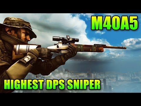 Sniper Sunday: M40A5 Highest DPS Sniper Rifle (Battlefield 4 Gameplay/Commentary)