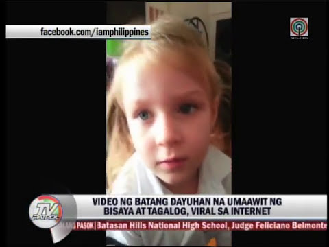 British child sings 'Leron, Leron Sinta' in viral video