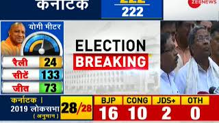 Election Breaking: JD(S), BJP meet Governor, both stake claim to form government in Karnataka