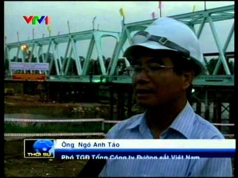 Japan transfers railway-bridge repairing technology in Vietnam.m2p
