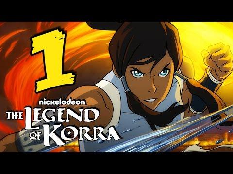 Прохождение The Legend of Korra - Часть 1: Начало игры ᴴᴰ 1080p