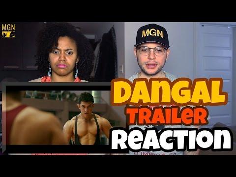 Dangal - Trailer | Aamir Khan REACTION thumbnail