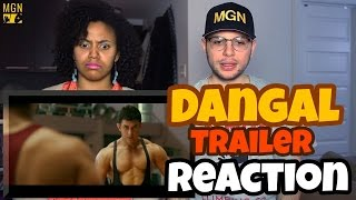 Dangal - Trailer | Aamir Khan REACTION