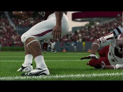 First Look at the New Gameplay Engine in NCAA Football 14