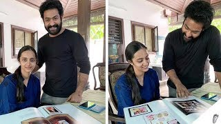 Jr NTR and His Wife Lakshmi Pranathi New Beautiful Photos l NTR | Jr Ntr With Wife Pranathi
