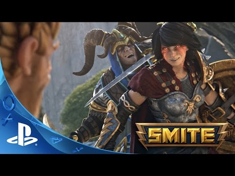 SMITE: Battleground of the Gods - Cinematic Trailer | PS4