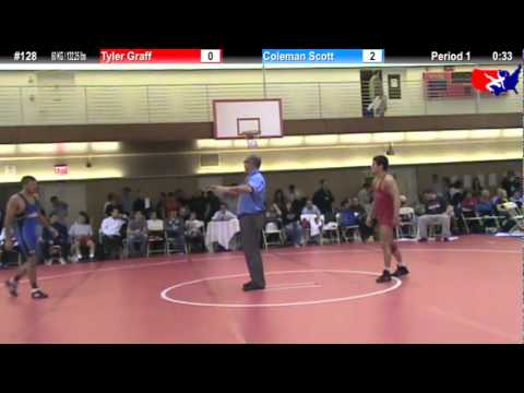 NYAC FS 60 KG / 132.25 lbs: Tyler Graff vs. Coleman Scott