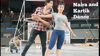 Naira(Kaira) and Kartik Dance