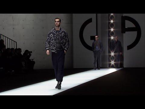 Giorgio Armani Fall Winter 2018 - 19 Men's Fashion Show