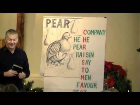 Children's Talk - Christmas Words