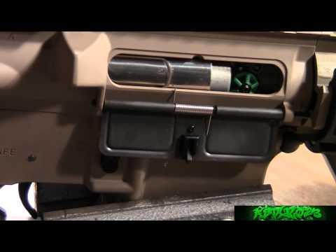 REVIEW: G&G GR15 Raider Full Size Blow Back Airsoft AEG Rifle - (Tan)  -ASTKilo23-