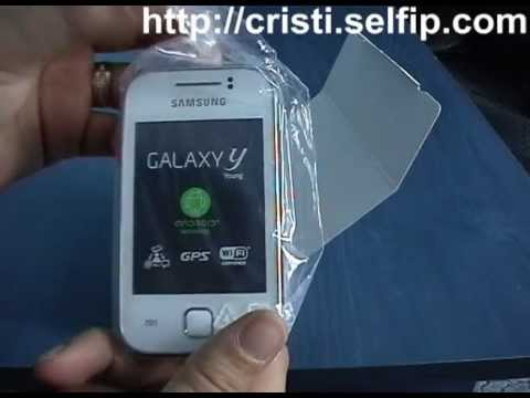 Samsung Galaxy Y S5360- Unpacking si Review complet. Android 2.3.6