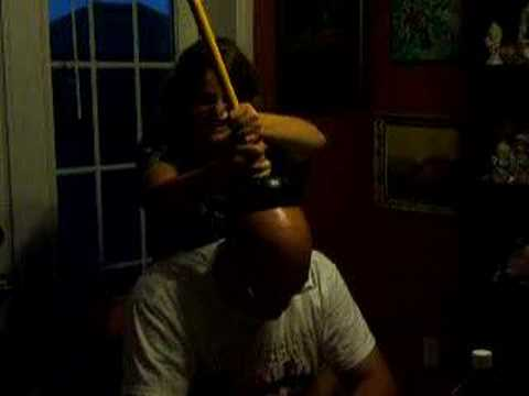my dad gets a toilet plunger stuck on his head youtube. Black Bedroom Furniture Sets. Home Design Ideas