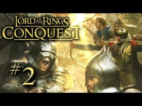 Helm's Deep - Lord of the Rings Conquest Creaturing Part 2