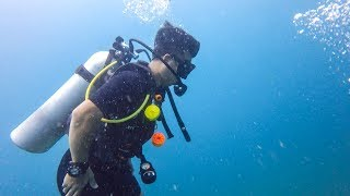 A Day in the Life of a Scuba Dive Master Trainee